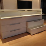 Sideboard weiß lack